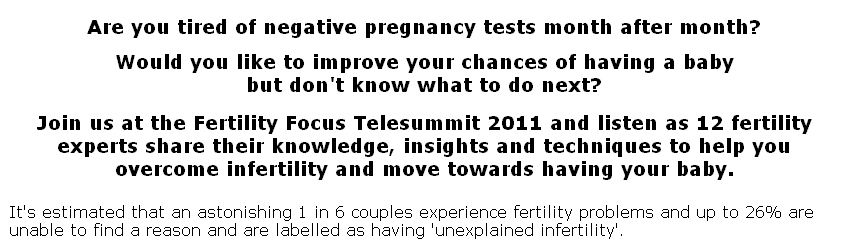 Fertility telesummit
